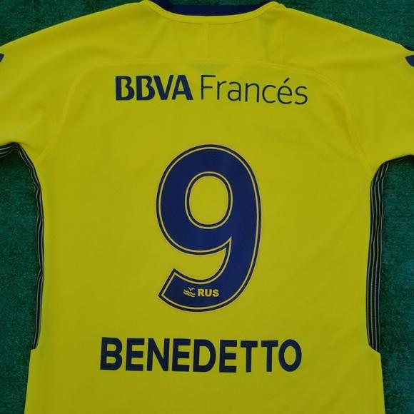 a0745299747 2017 18 Boca Juniors away soccer jersey Benedetto
